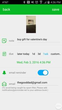 Picminder screenshot 1