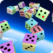 Colorful Dice -Jolly Puzzle- icon