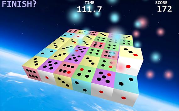 Colorful Dice -Jolly Puzzle- screenshot 1