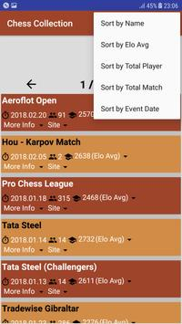 Chess PGN Scanner/Collection 2018 screenshot 2