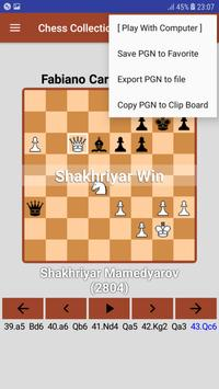 Chess PGN Scanner/Collection 2018 screenshot 4