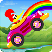 Woodi Woodpecker Hill Climb Pica Adventure icon