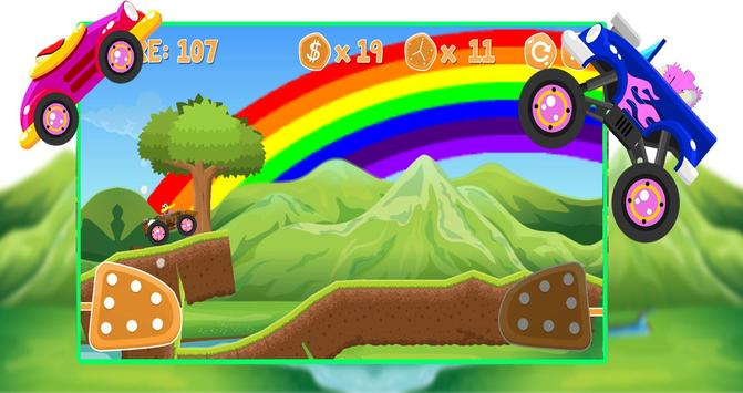 Woodi Woodpecker Hill Climb Pica Adventure screenshot 1