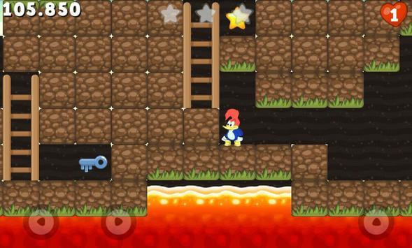 Woody Epic Adventure : Woodpecker Game screenshot 4