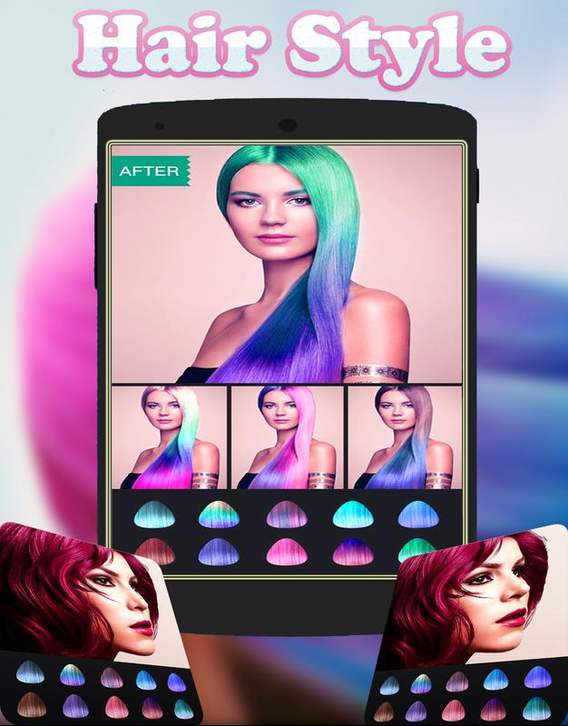 Change Hair Color Hairstyle Apk Download Free Photography App