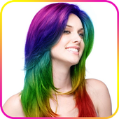 Change Hair Color icon