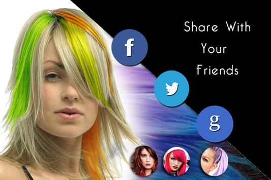 Change Hair Color apk screenshot