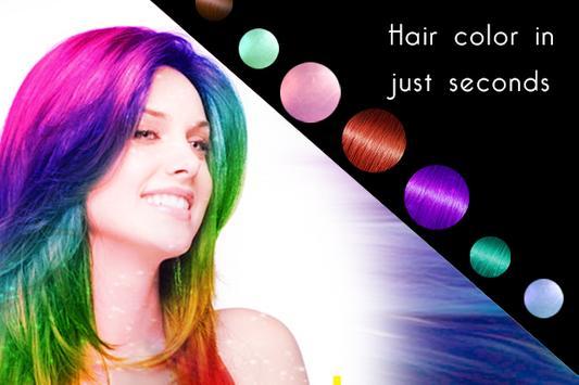 Change Hair Color screenshot 1