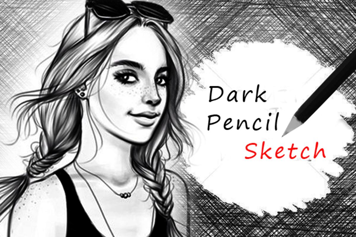 Pensil sketsa efek screenshot 10