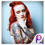 Stylish Tattoo Effects Photo Editor icon