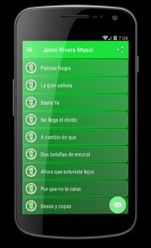 JENNI RIVERA Canciones Musica screenshot 1