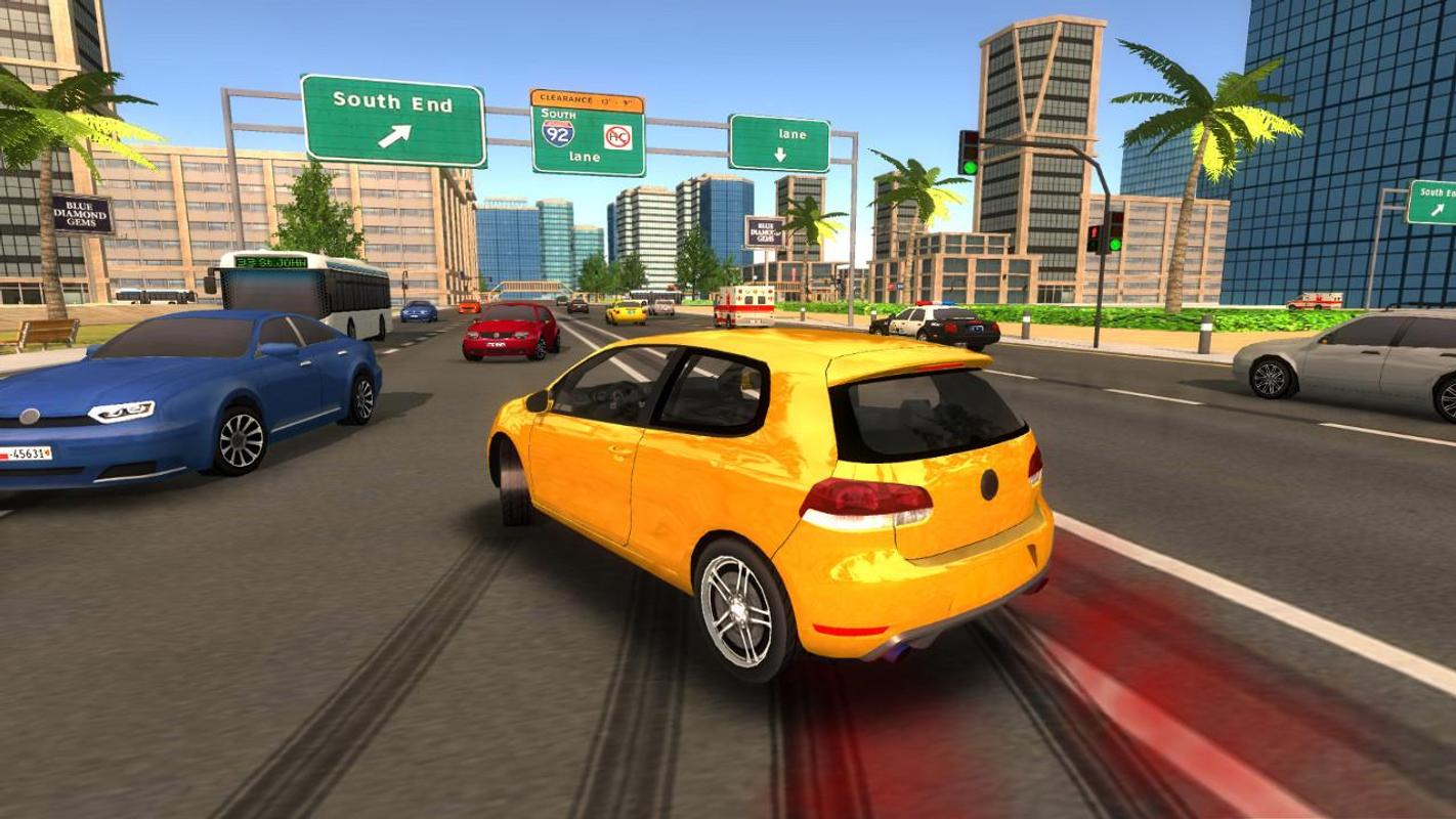 city car driving simulator how to change ai speeds