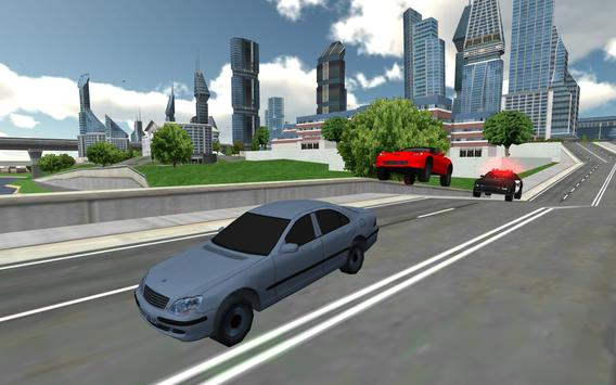 Flying Police Car Chase screenshot 6