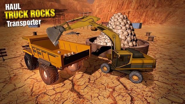 Haul Truck Rocks Transporter apk screenshot