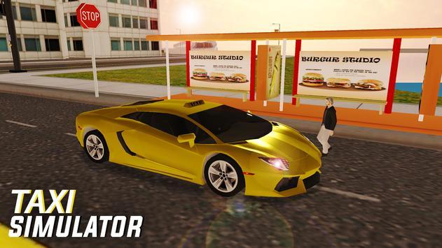 City Taxi Simulator poster
