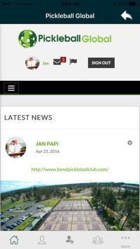 Pickleball Global screenshot 5