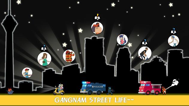 Gangnam Clicker-Korean street apk screenshot