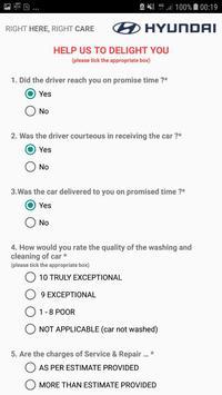 Hyundai - Pickup & Drop Services poster