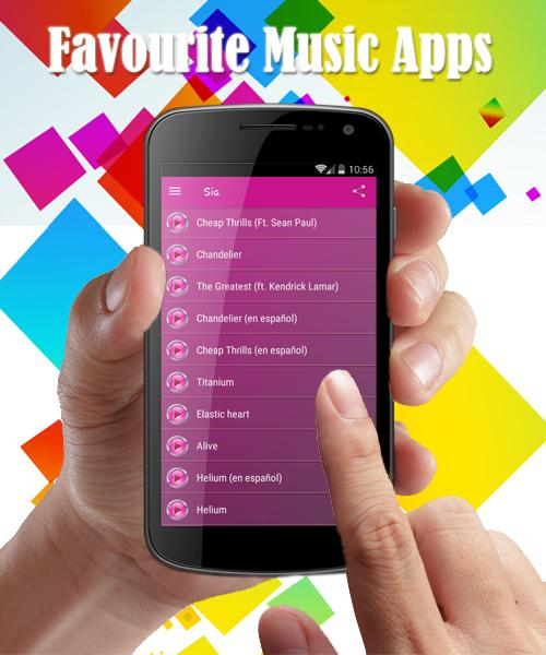SIA Lyrics Cheap Thrills for Android - APK Download
