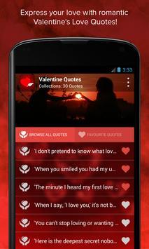 Valentine's Quotes poster