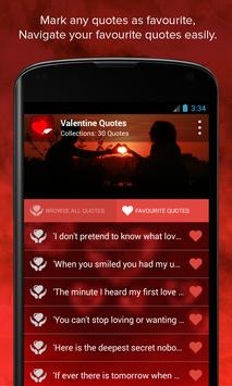 Valentine's Quotes apk screenshot