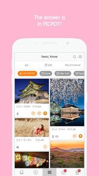 PICPOT - Photo Spot, Snap, Hot Place Navigate App apk screenshot