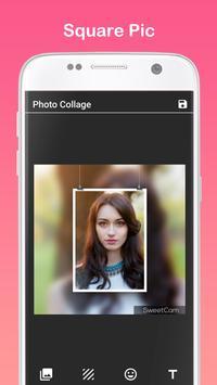 Sweet Cam Selfie - PIP Collage screenshot 4