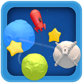 Planets and stars game icon