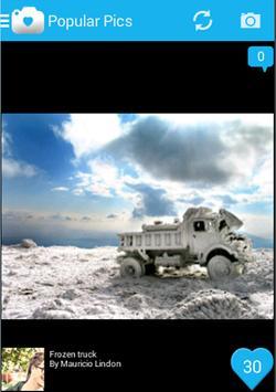 PicsFeed - Photo Sharing App apk screenshot