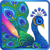 Adult Coloring Book icon