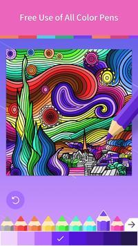 Adult Coloring Book screenshot 10