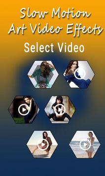Slow Motion Art Video Effects apk screenshot