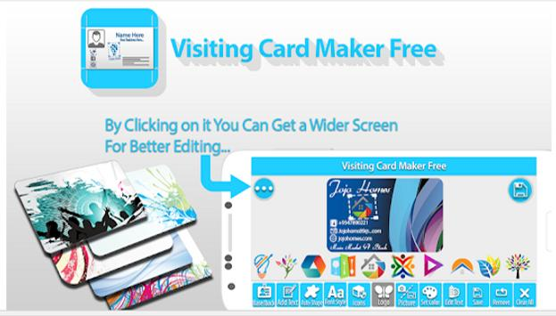 Business Cards, Visiting Card Maker, Editor pro for Android