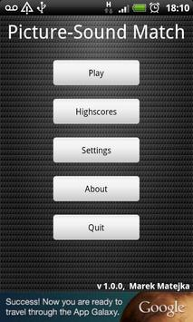 Picture-Sound Match screenshot 2