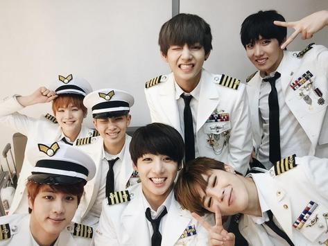 picture of korean artist BTS poster