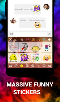 Picture Keyboard Apps Bit Emoji apk screenshot