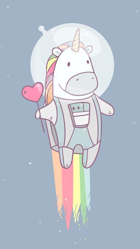 Cute Unicorn Wallpapers plakat ...