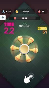 Collect Fidget Spinner apk screenshot