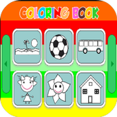 Picview Coloring Books Plus icon