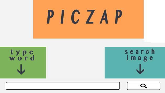 PICZAP - Simple Image Searcher poster