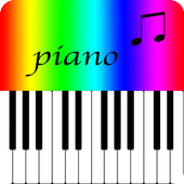 Piano color icon