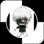 Tokyo Ghoul season 3 - Kaneki  Piano Tiles icon