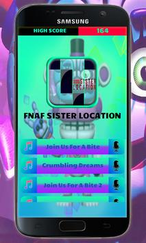 FNAF Sister Location Piano Game poster