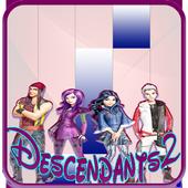 Descendants 2 Piano Tap icon