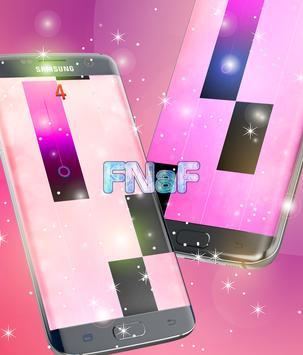 Fnaf Piano Tiles poster