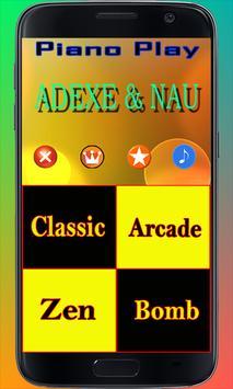 Adexe & Nau Piano Song Poster