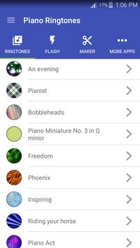 Piano Ringtones apk screenshot