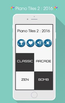 Piano Tiles 2 : 2016 poster
