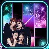 Black Pink Piano icon