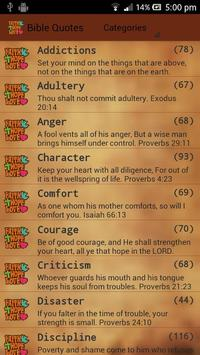 Holy Bible Quotes poster